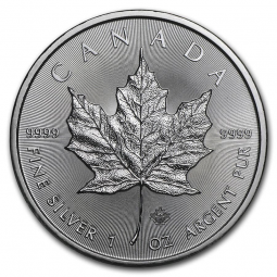 Prix Maple Leaf (Canada) 1 once argent (1oz) avers
