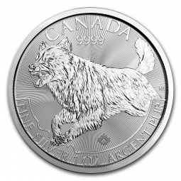 Prix Loup (Canada) 1once Argent (1oz) avers